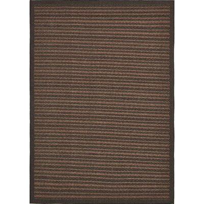 Clayera Brown Outdoor Area Rug Rug Size: Rectangle 8 x 114