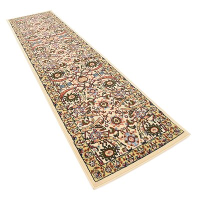 Anfa Cream Area Rug Rug Size: Rectangle 7 x 10