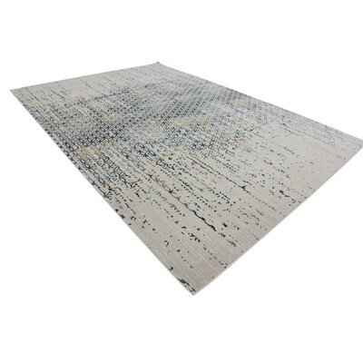 Brayden Beige/Blue Area Rug Rug Size: Rectangle 10 x 13