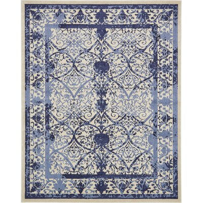 Shailene Blue Indoor/Outdoor Area Rug Rug Size: Rectangle 8 x 10