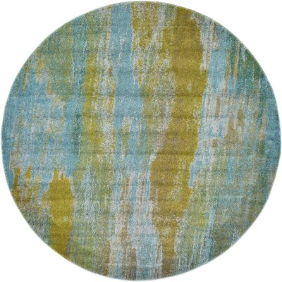 Killington Turquoise Area Rug Rug Size: Rectangle 106 x 165