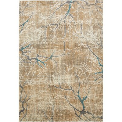 Essex Light Brown Area Rug Rug Size: 7 x 10