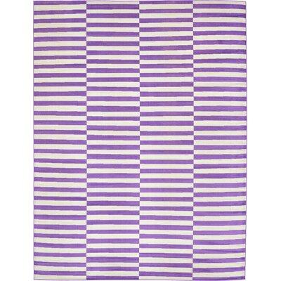 Braxton Purple Area Rug Rug Size: 9 x 12