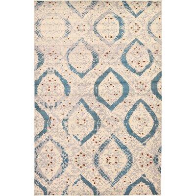 Charleena Cream Area Rug Rug Size: 106 x 165