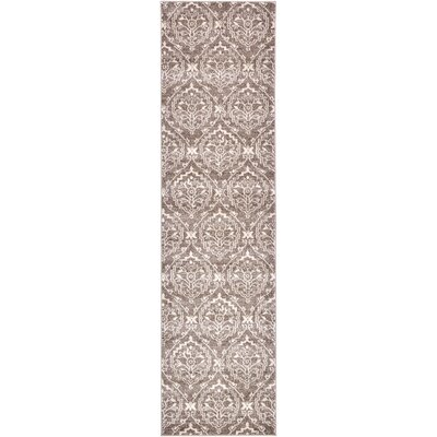 Ezequiel Light Brown Area Rug Rug Size: Runner 27 x 10