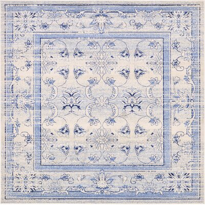 Chappel Machine Woven Polypropylene Area Rug Rug Size: Square 10