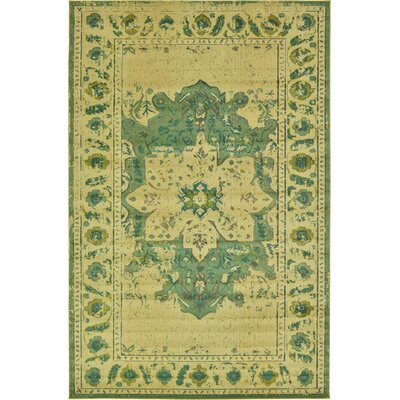 Killington Green Area Rug Rug Size: 106 x 165