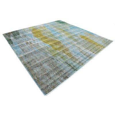 Killington Turquoise Area Rug Rug Size: Square 8