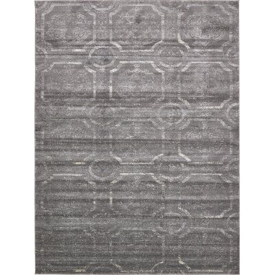 Essex Dark Gray Area Rug Rug Size: 9 x 12
