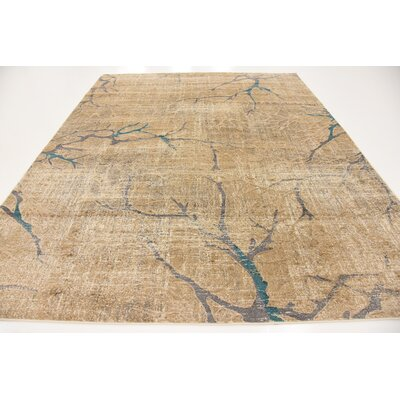 Essex Light Brown Area Rug Rug Size: 8' x 10'