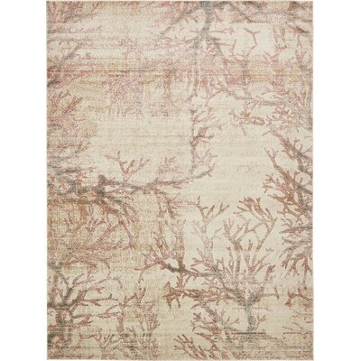 Sepe Dark Beige Area Rug Rug Size: Rectangle 7 x 10