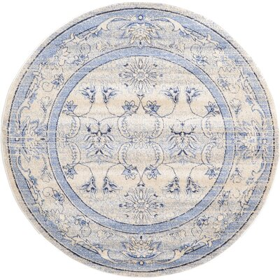 Chappel Machine Woven Polypropylene Area Rug Rug Size: Round 6