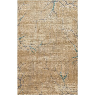 Essex Light Brown Area Rug Rug Size: 5 x 8