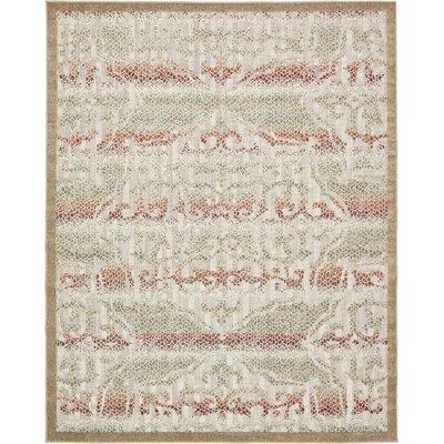 Lorenza Beige Indoor/Outdoor Area Rug Rug Size: Rectangle 8 x 10