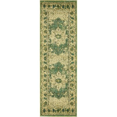 Killington Green Area Rug Rug Size: Rectangle 7 x 10
