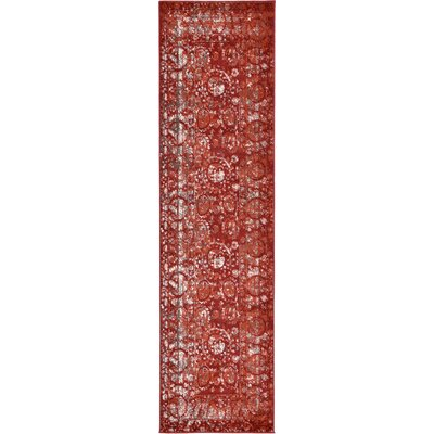Kelaa Terracotta Area Rug Rug Size: Rectangle 10' x 16'