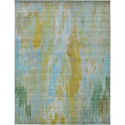 Killington Turquoise Area Rug Rug Size: 10' x 13'