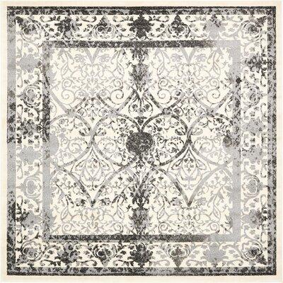 Shailene Ivory Area Rug Rug Size: Square 8