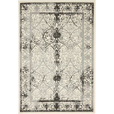Shailene Ivory Area Rug Rug Size: Rectangle 4 x 6