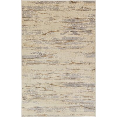 Essex Ivory Area Rug Rug Size: 5 x 8