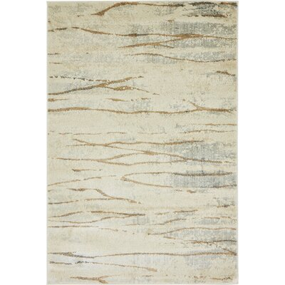 Essex Ivory Area Rug Rug Size: 4 x 6