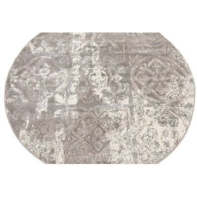 Sherrill Gray Geometric Area Rug Rug Size: Rectangle 8 x 10