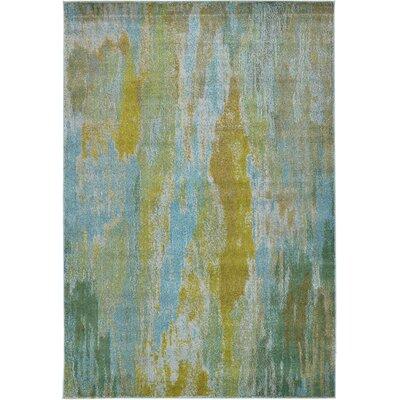 Killington Turquoise Area Rug Rug Size: 6 x 9
