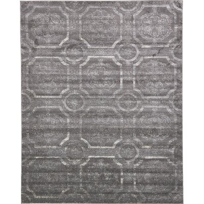 Essex Dark Gray Area Rug Rug Size: 8 x 10