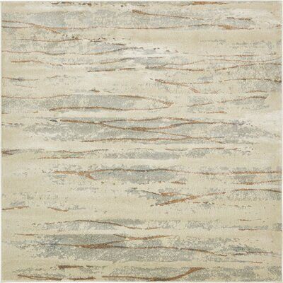 Essex Ivory Area Rug Rug Size: Square 8