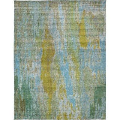 Killington Turquoise Area Rug Rug Size: 9' x 12'