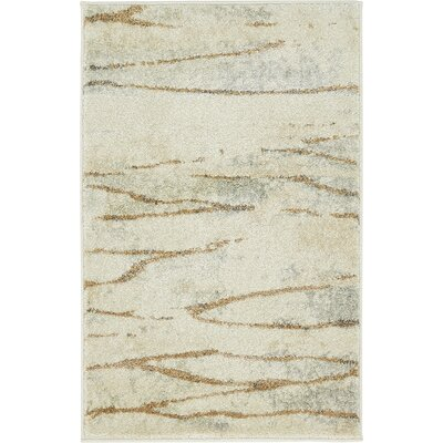 Essex Ivory Area Rug Rug Size: 2 x 3