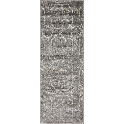 Essex Dark Gray Area Rug Rug Size: Runner 22 x 6