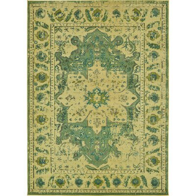 Killington Green Area Rug Rug Size: 7 x 10