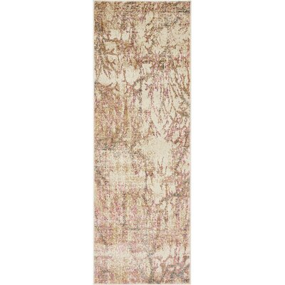 Essex Dark Beige Area Rug Rug Size: Runner 22 x 6
