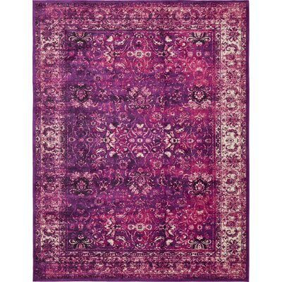 Neuilly Lilac/Violet Area Rug Rug Size: Rectangle 13 x 198
