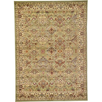 Fairmount Light Green Area Rug Rug Size: 7 x 10