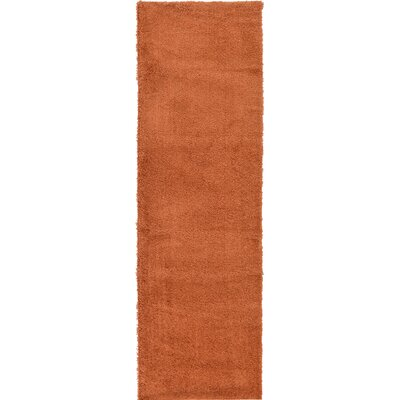Aquino Terracotta Area Rug Rug Size: Runner 27 x 985