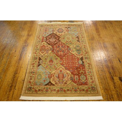 Jeannie Tan Area Rug Rug Size: Rectangle 33 x 53