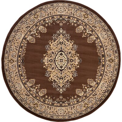 Charlie Brown Area Rug Rug Size: Round 8