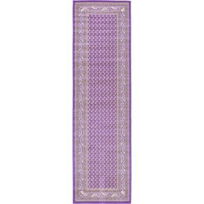 Toni Violet Area Rug Rug Size: Runner 29 x 910