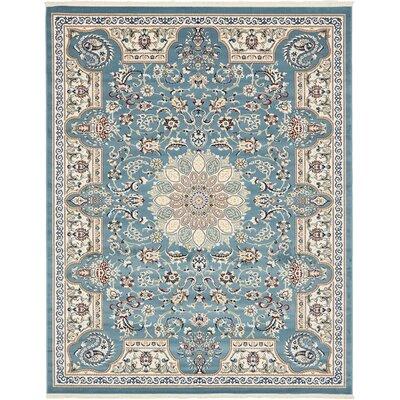 Jackson Blue Area Rug Rug Size: Rectangle 8 x 10