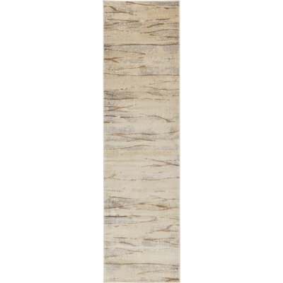 Essex Ivory Area Rug Rug Size: Runner 27 x 10