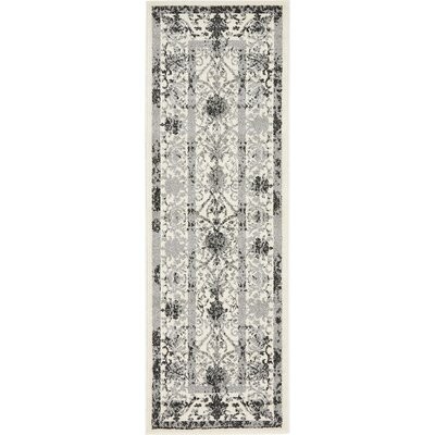 Shailene Ivory Area Rug Rug Size: Rectangle 3 x 6