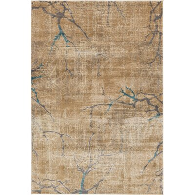 Essex Light Brown Area Rug Rug Size: 6' x 9'