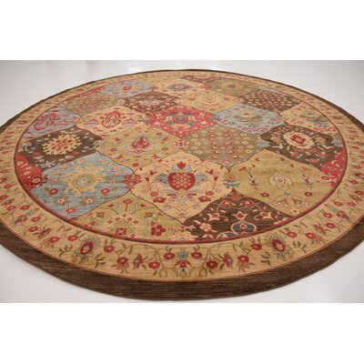 Jeannie Tan Area Rug Rug Size: Round 8