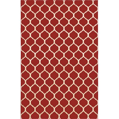 Moore Red Area Rug Rug Size: 10 x 13