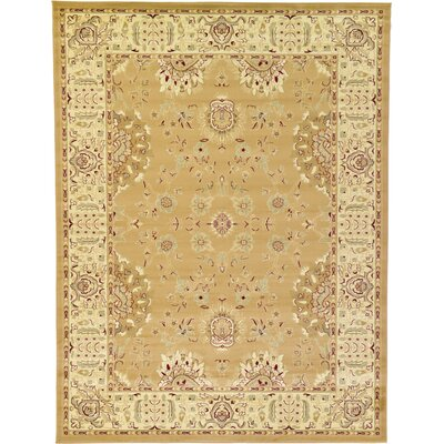 Niles Tan Area Rug Rug Size: Rectangle 33 x 53