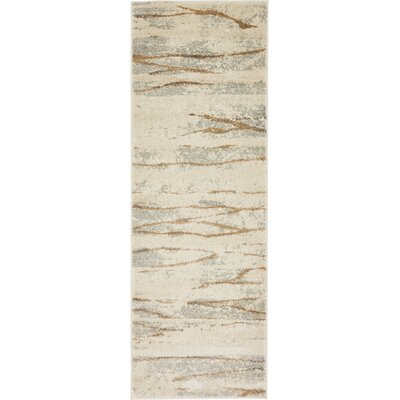 Essex Ivory Area Rug Rug Size: Runner 22 x 6