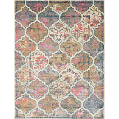 Jaiden Beige Area Rug Rug Size: Rectangle 9 x 12
