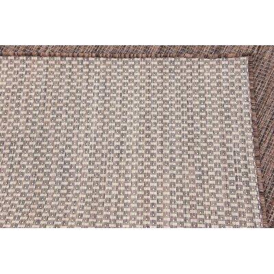 Cheriton Brown Indoor/Outdoor Area Rug Rug Size: Runner 2 x 6